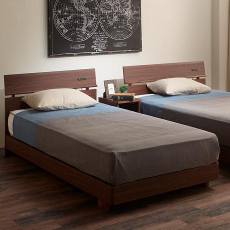 ベッドセット(フレーム+マット)