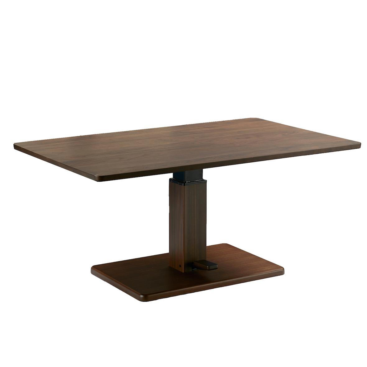 昇降式のダイニングテーブル
