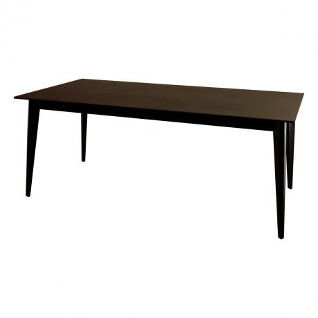 クオーツ2 180SRT DGY(BK) ダイニングテーブル