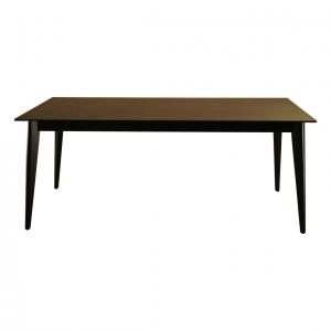 クオーツ2 180SRT DGY(BK) ダイニングテーブル1