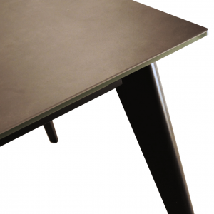 クオーツ2 180SRT DGY(BK) ダイニングテーブル2