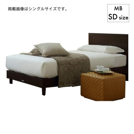マリン LG MB DR3フィット SDベッド[マットレス付]