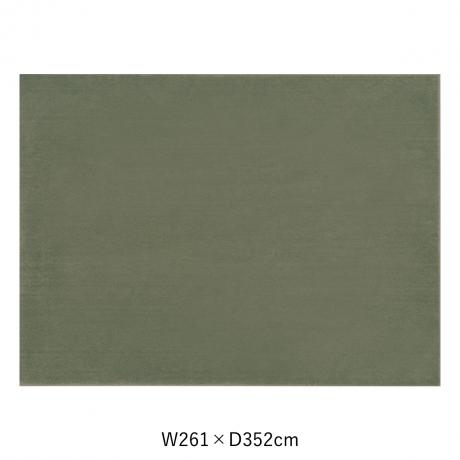 カーム 261X352 ダークグリーン スペースカーペット