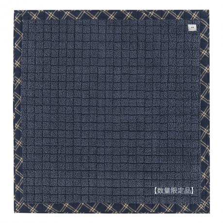 シープキルト 185x185ブルー