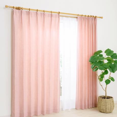 FPロマ PNK 100X135 4Pカーテン