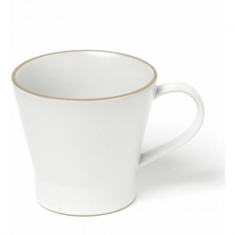 玉樹 エッジライン マグカップ ホワイト