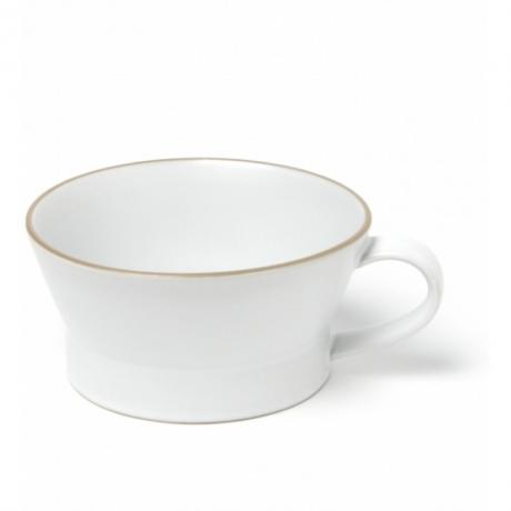 玉樹 エッジライン スープカップ ホワイト
