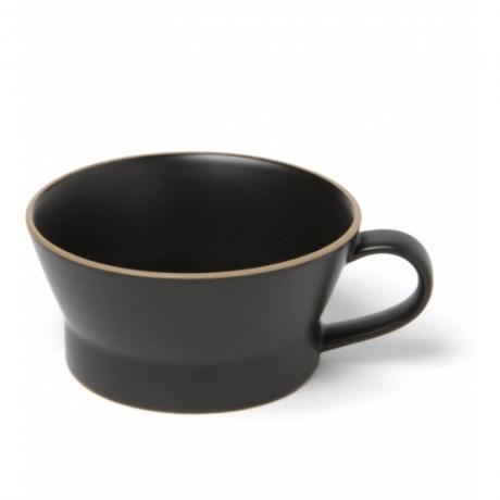 玉樹 エッジライン スープカップ ブラック