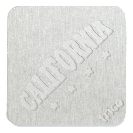 珪藻土トリココースター2 CALIFORNIA GY