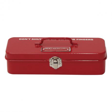 マーキュリー ブリキミニツールボックス RED MEBUMTBR