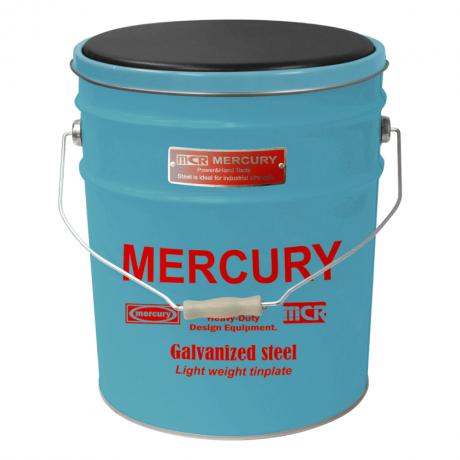 マーキュリー オイル缶スツール BLUE MEOISTBL