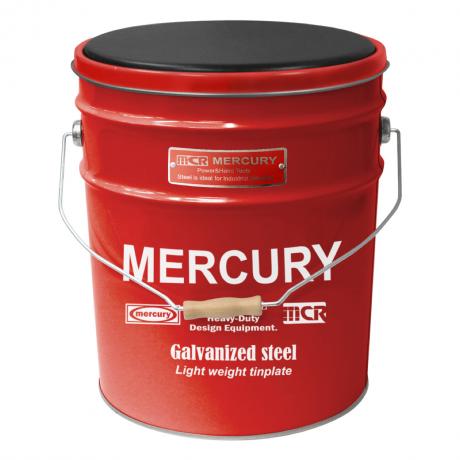 マーキュリー オイル缶スツール RED MEOISTRD
