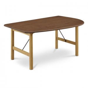 オーリス 1400LBR HSLNA ダイニングテーブル0