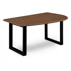 オーリス 1400LBR トスBK ダイニングテーブル0