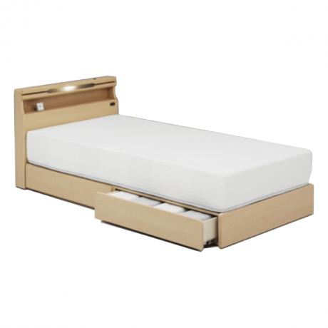 KK-025 DR/LO シングルベッド[マットレス付き]